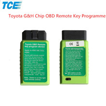 Novel item For Toyota G Chip Programmer and For Toyota H Chip Vehicle OBD Remote Key Programming device