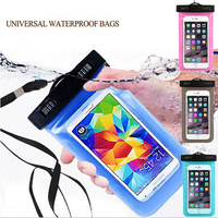 Multicolor New Universal Travel Swimming Waterproof Bag Case Cover for Iphone 5 5s 6 6s Under 5.5 inch Cell Phone Freeshipping