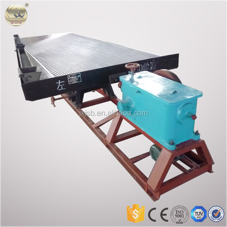 Top Brand Gold Gravity Concentrating Table From Jiangxi Jinshibao