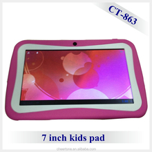 7 inch newest professional education android kids drawing tablet with Kids OS