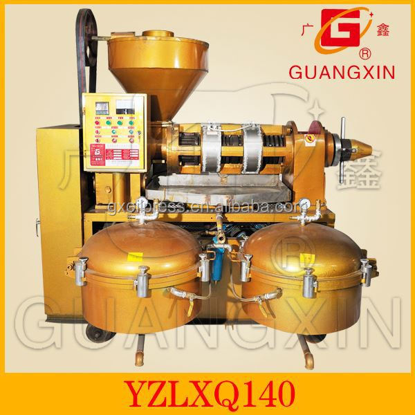 GUANGXIN YZLXQ140CJ hand operated small olive oil press muti-function oil squeeze machinery coconut oil