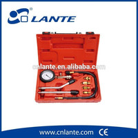Engine Cylinder Compression Tester Kit With Extension Bar Auto Engine Diagnostic Tool