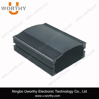 lightweight hard extruding aluminum switch amplifier enclosure, aluminum extrusion box