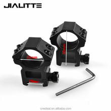 Jialitte 25.4mm Rings hunting accessories 20mm weaver picatinny Rail High Base mounts adapter for adjustable scope mount J092