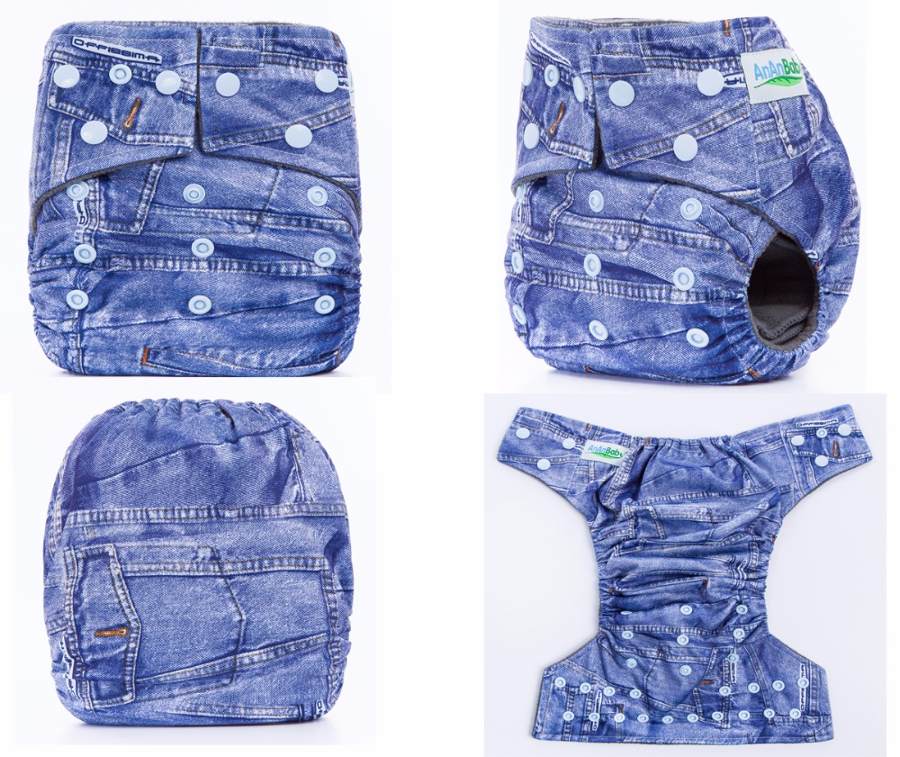 2016 High Quality Washable And Reusable Nappy Cloth Diaper