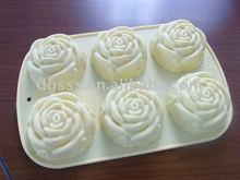 Silicone Bakeware Rose Shape Mold