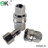 Copper Material American Type Straight Through hydraulic quick release coupling