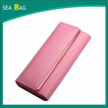 Big capacity new style hi-key ladies wallet high fashion high quality light-minded wallet