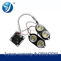 LED array 4 leds ir high brightness pcb smart board FY-9704 for CCTV Camera case
