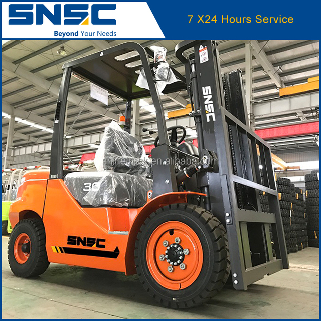 China automatic hydraulic transmission FD30 diesel forklift 3ton price