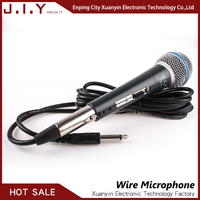 high quality professional stage performance dynamic wired microphone portable karaoke vocal speaker micrphone