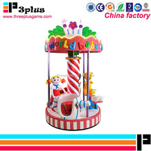 Children indoor rides games machines carousel rides for amusement park