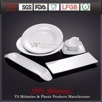 Good corrosion resistance hard plastic dinnerware