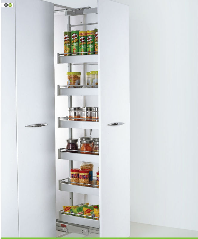Soft Stop Tall Unit - Kitchen Vertical Storage Unit