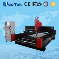 Acctek heavy duty 3d photo carving cnc router with good price