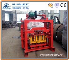 QT40-2 small business hollow brick machine concrete brick molding machine price list