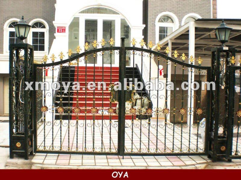 Iron Main Gate Grill Designs Home   Buy Iron Main Gate Designs,Main Gate  Design Home,Gate Grill Design Product On Alibaba.com