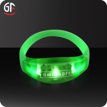 2017 Best Products Cheap Flashing LED Wristband, Led Light up WristBand For Party