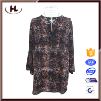 Walson Leopard Print Shirt Long Sleeve Chiffon Blouse Slim Office Lady Tops clothing manufacturers
