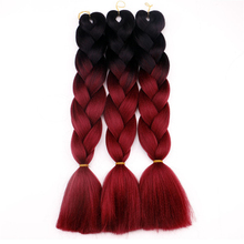 "Wholesale Jumbo Braid 16 Color 24""Jumbo Braiding Hair For Women Jumbo Braid Hair Extension"