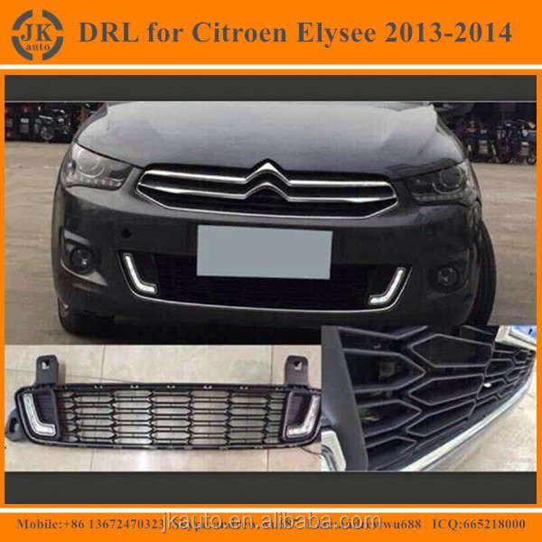 New Arrival LED Fog Light Super Quality Daytime Running Lights for Citroen Elysee 2013-2014