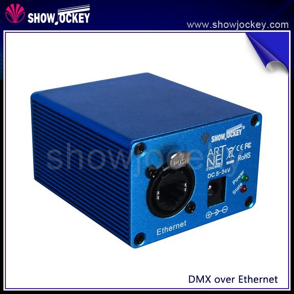 ShowJockey Compatible Madrix Artnet to DMX 8 Universe LED Lighting Controller