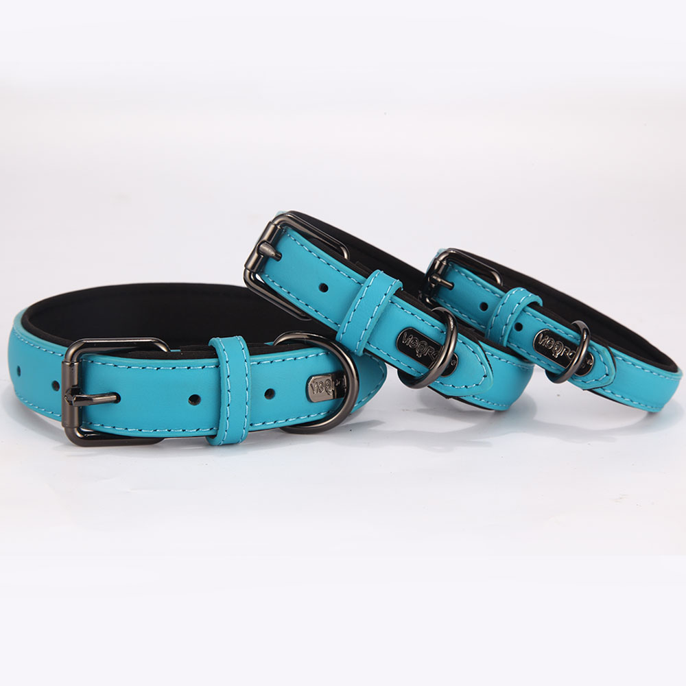 Amazon Hot Selling Products Waterproof Genuine Leather Dog Training Collar