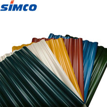 Color coated galvalume PPGI galvanized corrugated color roof steel sheet