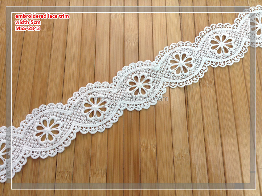 the new fashion bag cotton white color lace trimming