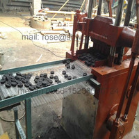 charcoal making machine/BBQ shisha charcoal briquette making machine manufacturer with good price