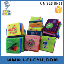 Baby Educational Cloth Books Soft Series Colorful Fabric Kid Learning Book