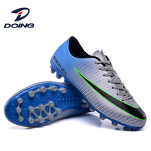 High Quality Custom Outdoor Cleats Soccer Shoes Soft Lining