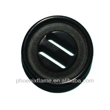 fashion resin 2 hole buttons with Shaft of holes