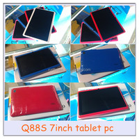 7inch a23 dual core tablet pc Q88 512MB+4GB with OTG