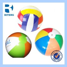 Popular promotional PVC inflatable beach ball with customized printed logo