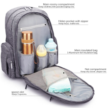 Portable Hot Sale Fashion Muti-Functional OEM Baby Diaper Backpack