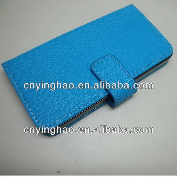 New promotional real leather for iphone4g phone