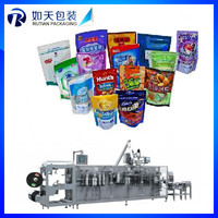 stainless steel automatic vacuum 3 sides sealing sachet packing machinery for Bread,Cake,Biscuit