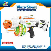 best selling products abs plastic soft bullet gun toy wholesale electronic toy guns