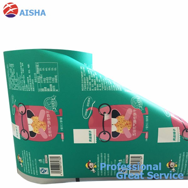 Plastic Roll Film For Food Or Drinks Powder With Custom Printing