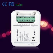2811 2801 6803 ic DC12V wifi digital led remote controller wifi programable controller for IOS and Android phone