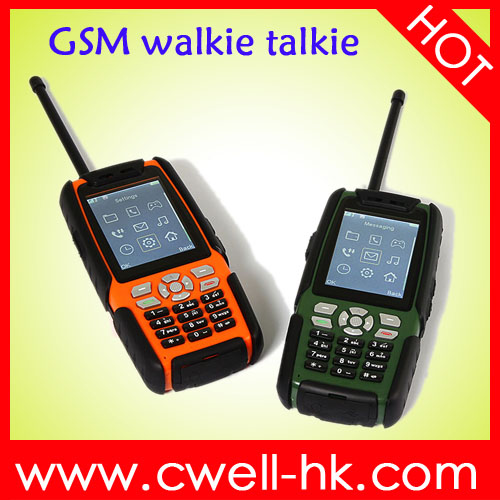 ALPS L8 IP67 Waterproof Rugged mobile phone with walkie talkie