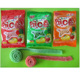 strawberry apple orange fruit Sugar Coated Super Sour Straw Belt tape Chews Chewy Gummy Candy