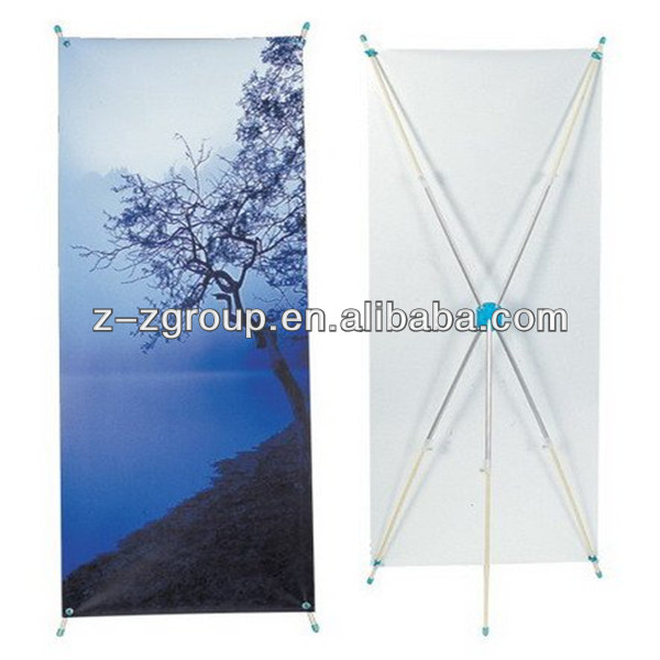 Bamboo X Frame Banner Stand Z-Z Group