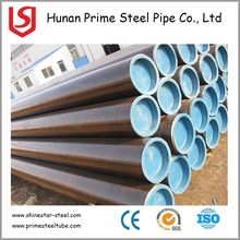 Seamless steel pipe carbon mild steel line pipe from factory in Hunan