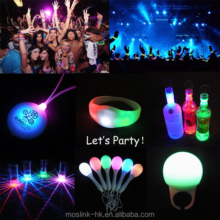 Sound Activated LED wristband Motion Sensor Glow Bracelet Led Bracelet With Motion Sensor Light