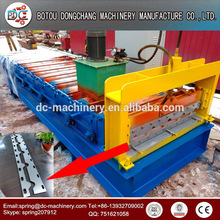 Color coating galvanized corrugated metal sheet machine for roof and wall