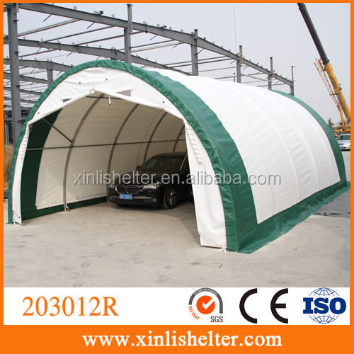 Easy Up PE Covered Carport Tent