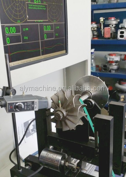 Professional high speed turbocharger cartridge balancing machine(RYQ-10A)