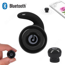 Mini Size Wireless Bluetooth Stereo In-Ear Headset Earphone Earpiece For Android